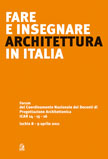 Fare e insegnare architettura in Italia