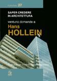 Ventuno domande a Hans Hollein